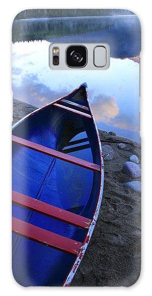 Blue Canoe Galaxy Case