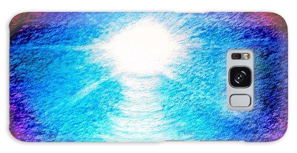 Blue Cave Galaxy Case