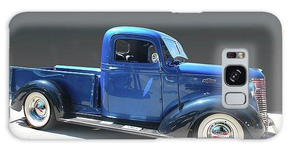 Blue Chev Truck Galaxy Case
