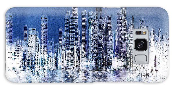 Blue City Galaxy Case by Stuart Turnbull