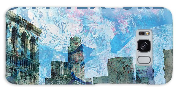 Blue City Textures Galaxy Case