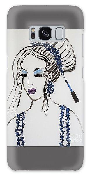 Blue Color Fan Galaxy Case