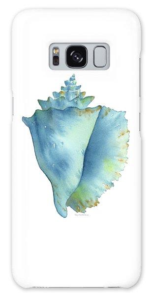 Blue Conch Shell Galaxy Case