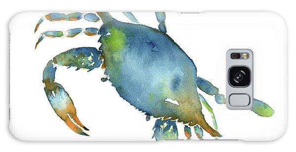 Blue Crab Galaxy Case