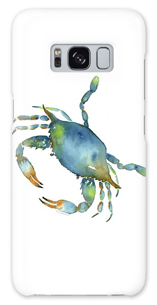 Blue Crab Galaxy Case