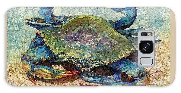 Claws Galaxy Case - Blue Crab by Hailey E Herrera