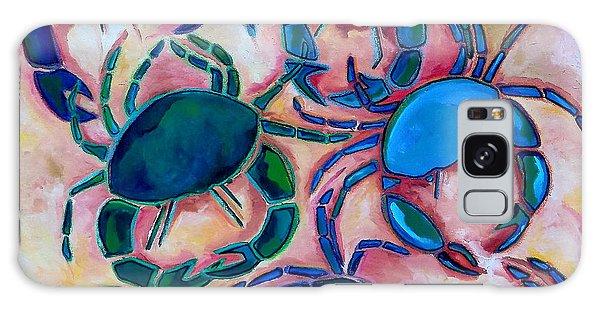 Blue Crabs Galaxy Case