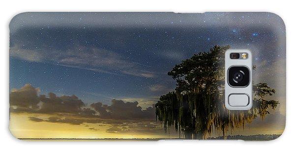 Blue Cypress Lake Nightsky Galaxy Case