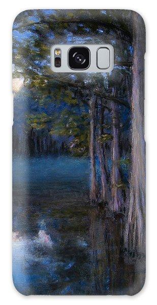 Blue Cypress Morning Galaxy Case