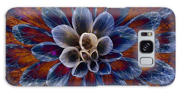 Blue Dahlia Galaxy Case