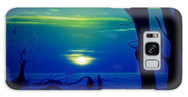 Blue Dawn Galaxy Case