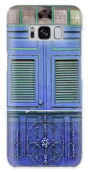 Blue Door Galaxy Case