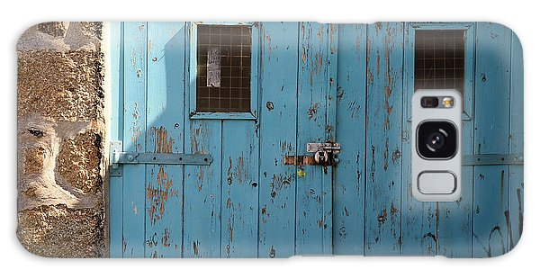 Blue Doors Galaxy Case