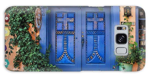 Blue Doors - Old Town - Albuquerque Galaxy Case