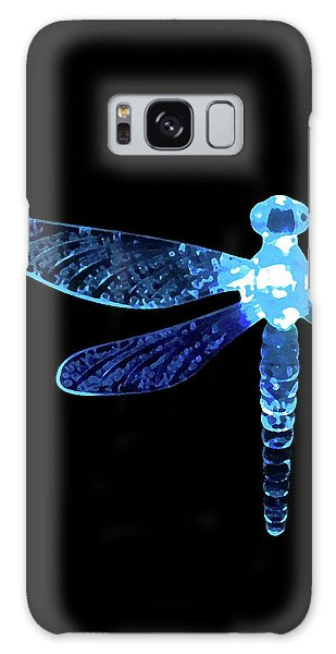 Blue Dragonfly Galaxy Case