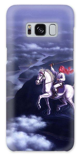 White Horse Galaxy S8 Case - Blue Dream by Jerry LoFaro