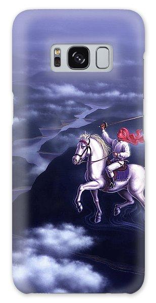 White Horse Galaxy Case - Blue Dream by Jerry LoFaro