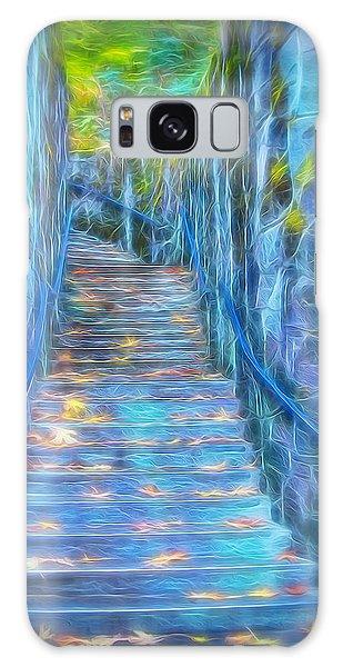 Blue Dream Stairway Galaxy Case