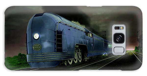 Blue Express Galaxy Case by Steven Agius