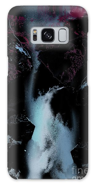 Blue Falls Galaxy Case