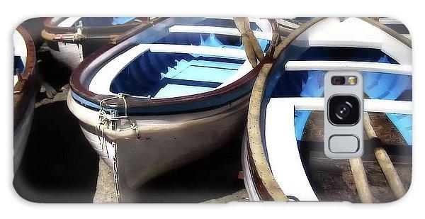 Blue Fishing Boats Galaxy Case