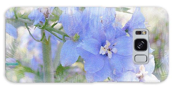 Blue Flower Fantasy Galaxy Case