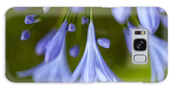 Onion Galaxy S8 Case - Blue Flowers by Nailia Schwarz