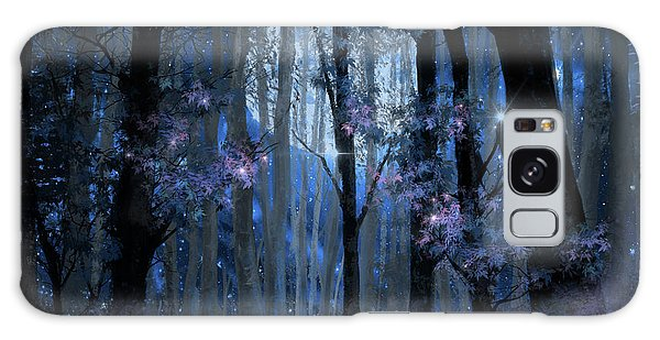 Blue Forest Galaxy Case