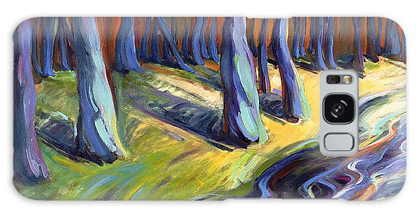 Blue Forest Galaxy Case