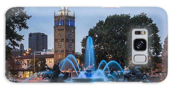 Blue Fountain Galaxy Case