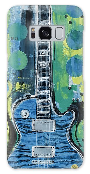 Blue Gibson Guitar Galaxy Case