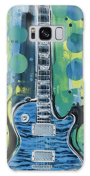 Blue Gibson Guitar Galaxy Case
