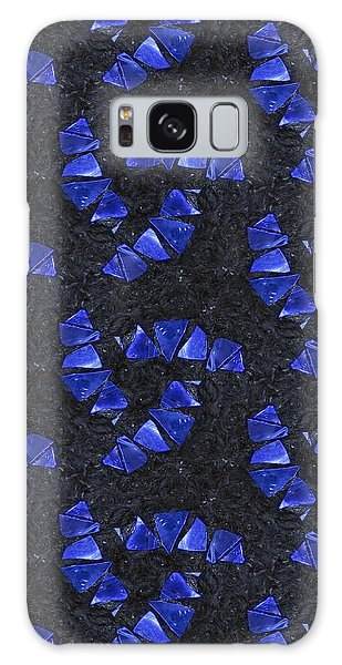 Blue Glass  Galaxy Case