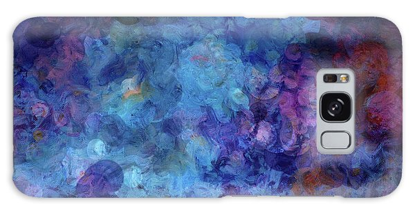 Blue Grotto Painting  Galaxy Case