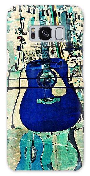 Blue Guitar Galaxy Case