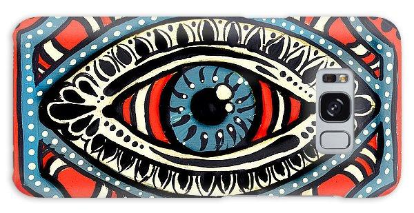 Blue Gypsi Eye Galaxy Case