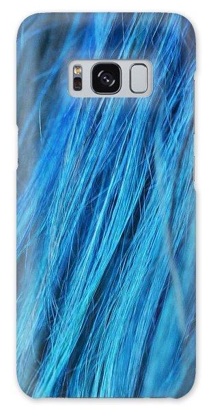 Blue Hair Galaxy Case