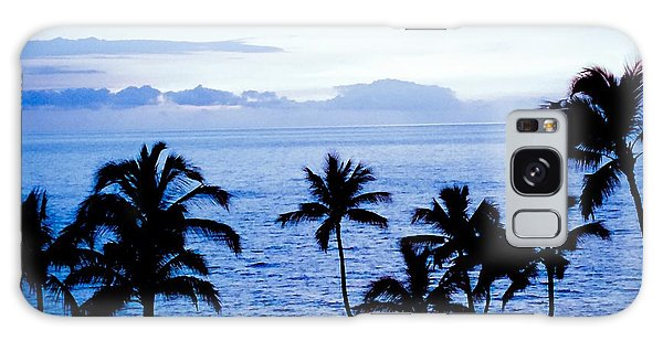 Blue Hawaii Galaxy Case