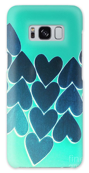 Symbolism Galaxy Case - Blue Heart Collective by Jorgo Photography - Wall Art Gallery