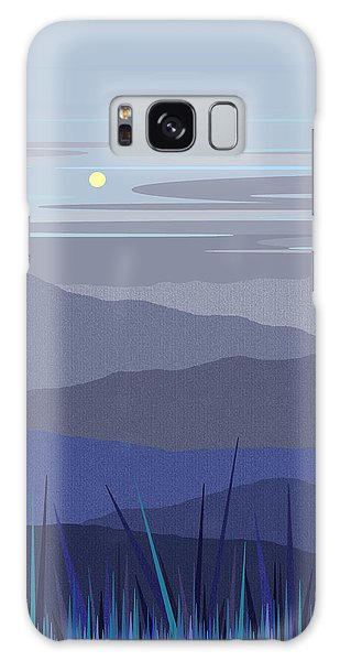 Blue Hills Vertical Galaxy Case by Val Arie