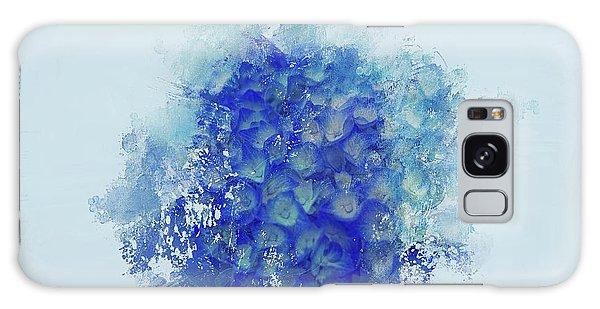 Blue Hortensia Galaxy Case by Eva Lechner