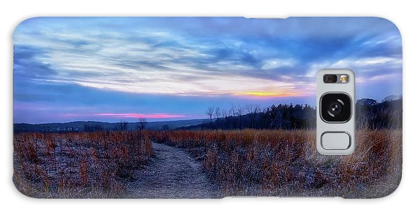 Blue Hour After Sunset At Retzer Nature Center Galaxy Case by Jennifer Rondinelli Reilly - Fine Art Photography