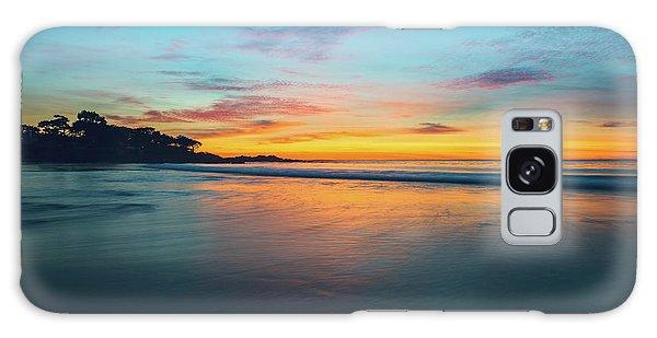 Blue Hour At Carmel, Ca Beach Galaxy Case