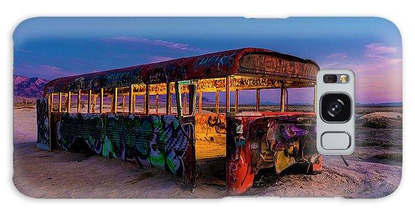 Blue Hour Bus Galaxy Case