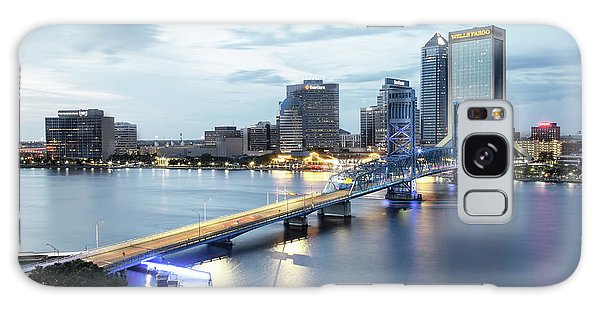 Blue Hour In Jacksonville Galaxy Case