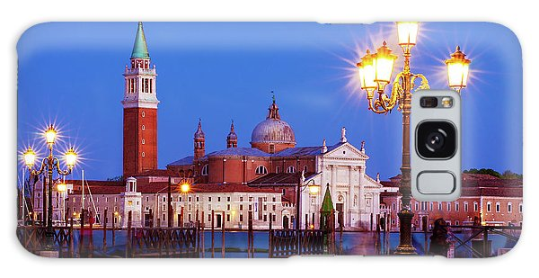 Galaxy Case featuring the photograph Blue Hour In Venice by Barry O Carroll
