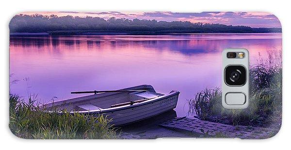 Blue Hour On The Vistula River Galaxy Case