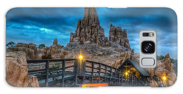 Blue Hour Over Big Thunder Mountain Galaxy Case