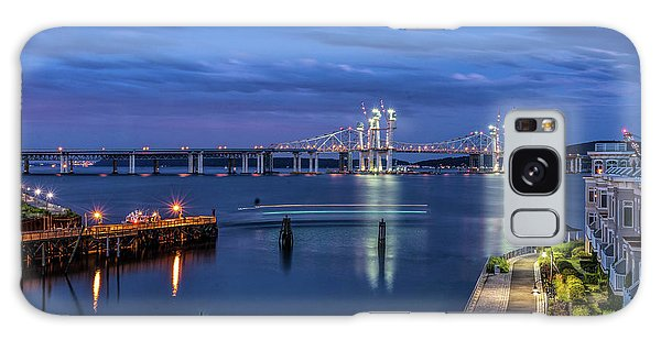 Blue Hour Over The Hudson Galaxy Case