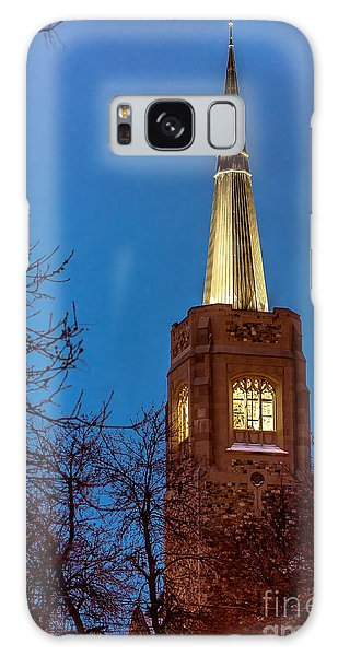 Blue Hour Steeple Galaxy Case
